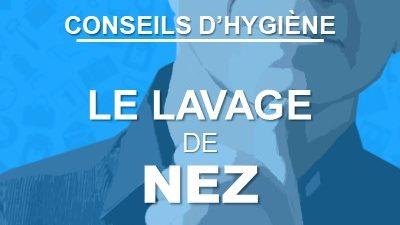 Conseil d'hygiène pour la voix : le lavage de nez
