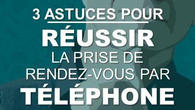 3 astuces pour réussir la prise de rendez-vous par téléphone
