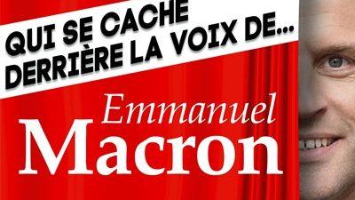 Voix de Leader : Qui se cache derrière la voix d'Emmanuel Macron ?